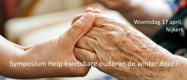 Symposium  Help kwetsbare ouderen de winter door?